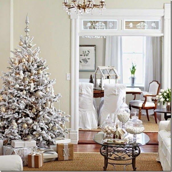 case e interni - Natale combinazione colori shabby chic