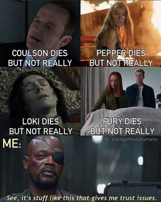 Only 25 perfect memes about the Marvel Cinematic U…