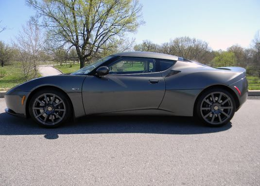 2010 Lotus Evora 2+2 Coupe.  This car will be featured at our Dallas Auction on Nov. 21-23 at Dallas Market Hall.