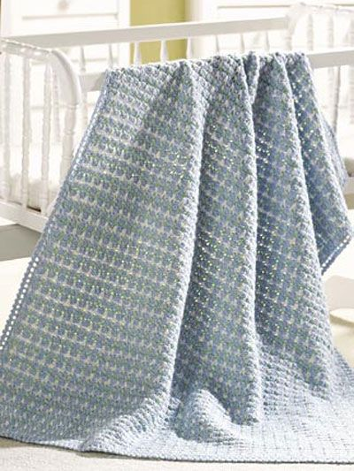 Love this idea for making blankets for Heartbeats, crocheting for babies and for the mothers who other wise wouldn't be able to have anything like this for their little one!!!