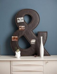 More original home accessories from Rose and Grey: the Ampersand Magnetic Memo Board