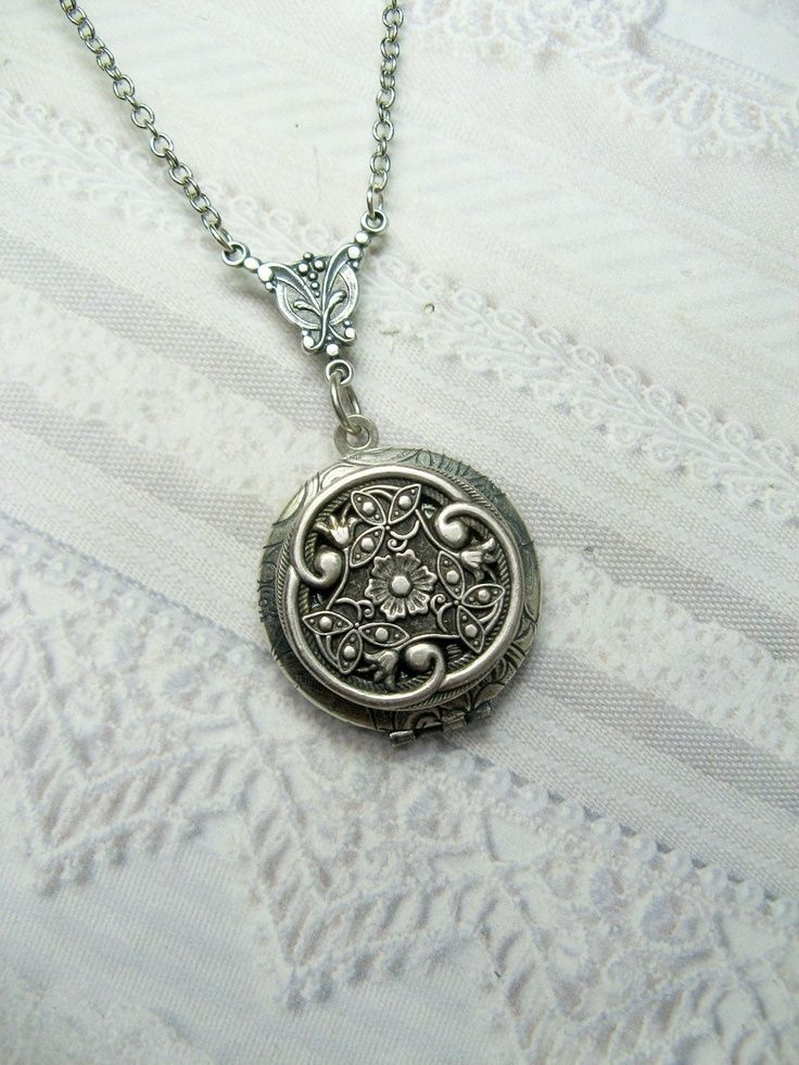 Wedding Gifts For Parents The Knot : ... jewelry celtic wedding gothic wedding locket necklace bridesmaid gifts