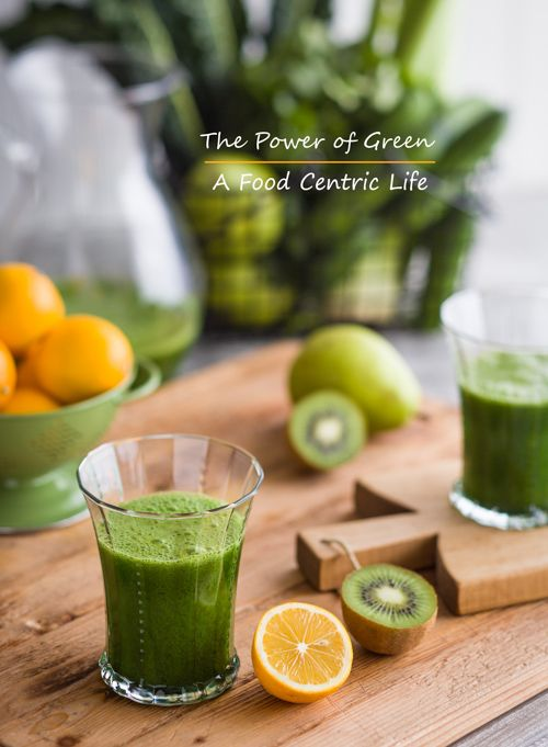 Green Juice : The Power of Green  Loaded with fresh fruits and vegetables, this nutrition-packed green juice provides a load of vitamin C, K, manganese, phytonutrients, anti-inflammatory nutrients and anti-disease nutrients.