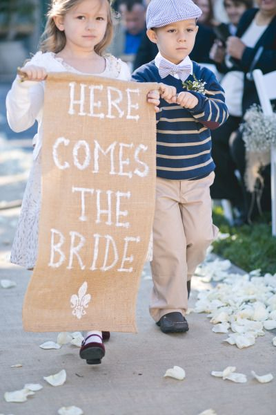 Here comes the Bride: http://www.stylemepretty.com/california-weddings/2014/11/21/family-infused-old-ranch-country-club-wedding-on-a-budget/ | Photography: Closer to Love - http://closertolovephotography.com/
