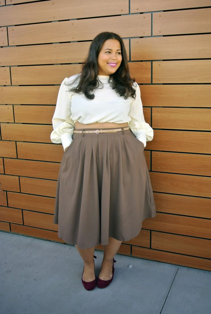 Garnerstyle Neutral Plus Size Outfit Pinterest Girl Guides Curvy And Girls