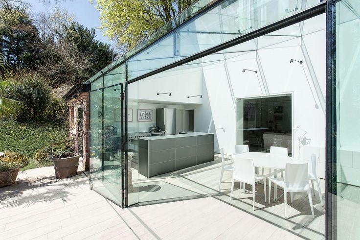 Старинный кирпич и стеклянные стены / Дизайн интерьера / TheDecoPost