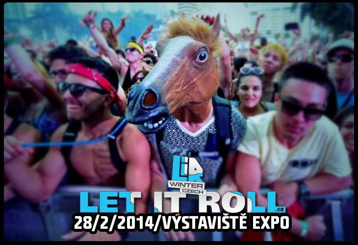 What will be your festival mask on winter Let It Roll 2014 . . . ?? :D