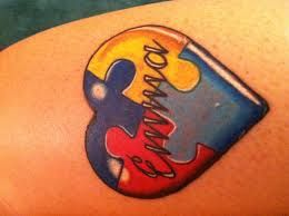 Autism Tattoos And Designs-Autism Tattoo Meanings And Ideas-Autistic Tattoo Designs