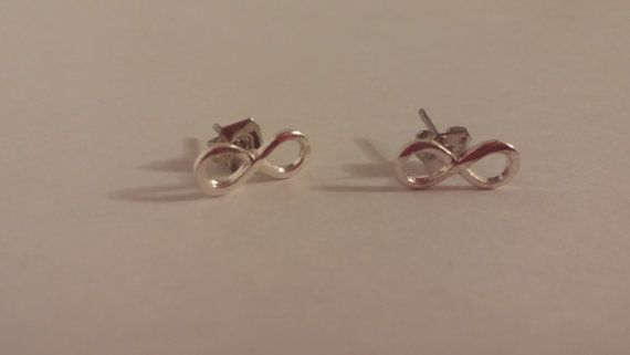 Check out this item in my Etsy shop https://www.etsy.com/ca/listing/459098508/infinity-sign-stud-earrings