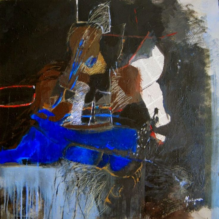 exhibition of paintings by Claire Merigeau from