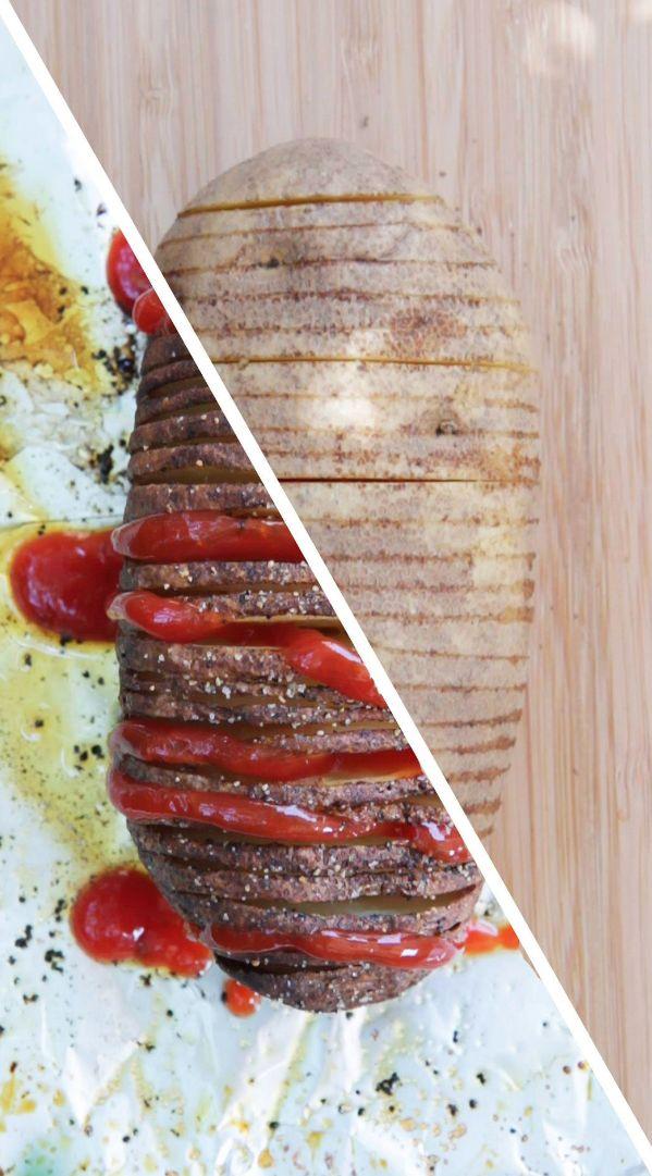 Gebackene Kartoffelchips | 8 einfache Snacks für den TV-Abend, wenn Du fauler als ein Faultier bist
