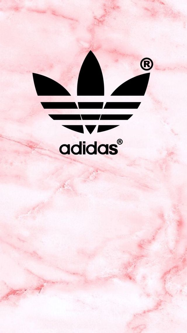 Adidas Logo Pink Texture iPhone 5 Wallpaper