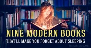 Nine modern books that'll make you forget about sleeping