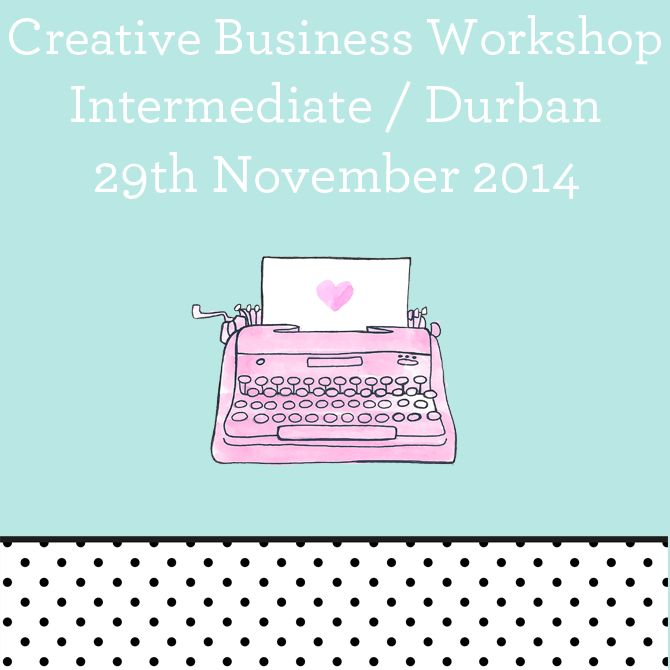 Pretties! @NadiavdMescht is selling tickets to her Durban creative workshop on Hello Pretty!  Don't miss out - this is one superstar who knows what she's doing: http://hellopretty.co.za/nadia-vd-mescht-bookings/durban-creative-business-workshop-29-november-intermediate