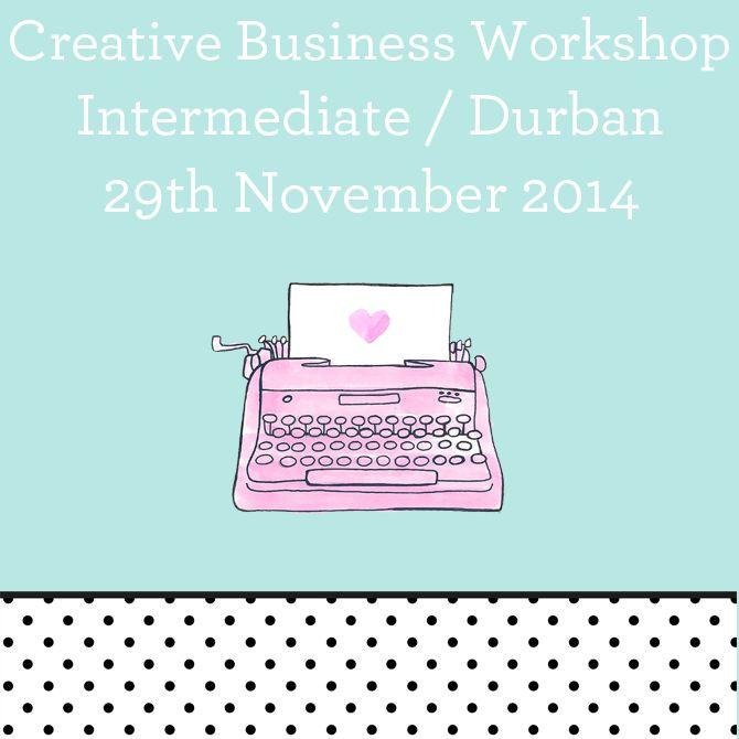Nadia vd Mescht - Creative Business Workshop #creative #business #durban