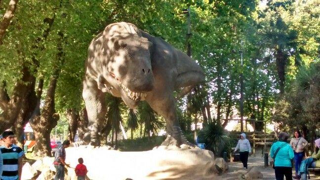 Parque jurásico en Concepción...