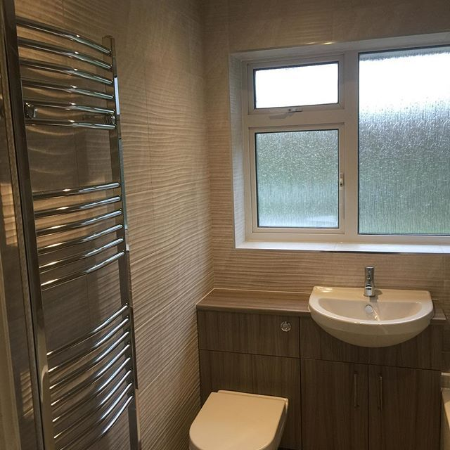 Beautiful Wood Bathroom Fitted in Hull, England.