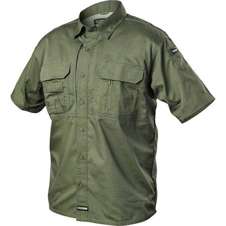 Blackhawk Tactical Pursuit Short Sleeve Shirt Jungle Medium, Men's, Green