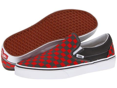 Vans Classic Slip On Denim Leopard Festival Fuchsia, Vans, Shoes
