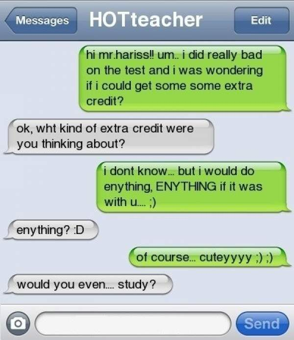 Funny & Awkward Texts From Teachers - Likes