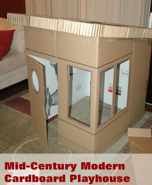 another cardboard house