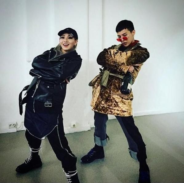 CL (2NE1) et G-Dragon (BIGBANG) ensemble à Paris ?
