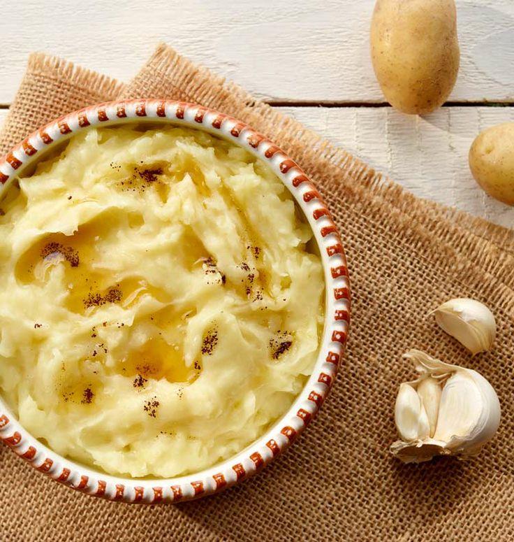 Chrzanowo-czosnkowe purée ziemniaczane #lidl #przepis # ziemniaki #purée