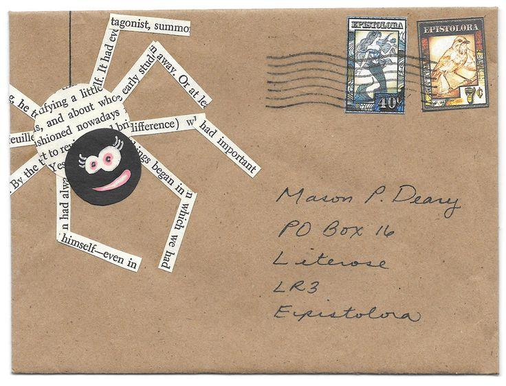 522 best Mail Art images on Pinterest Envelope art, Envelope and - new letter envelope address format canada