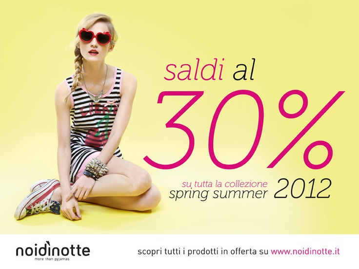 Saldi noidinotte  #pigiama #intimo #mare #summer #pyjama #saldi #sale #soldes
