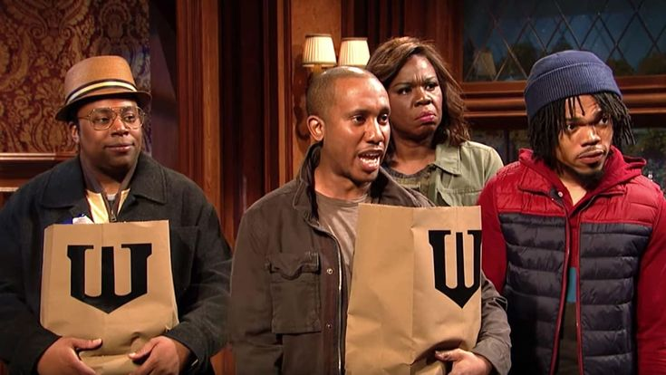 """Chance The Rapper Wants Batman To Know Black Lives Matter In This """"SNL"""" Sketch"""