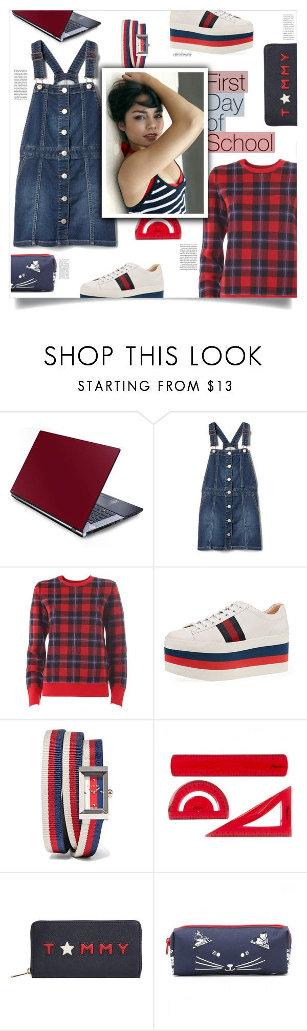 """""""High School Musical, Kenny Ortega (2006)"""" by agla83 ❤ liked on Polyvore featuring Equipment, Gucci, Tommy Hilfiger, Whiteley, Joules and Oris"""