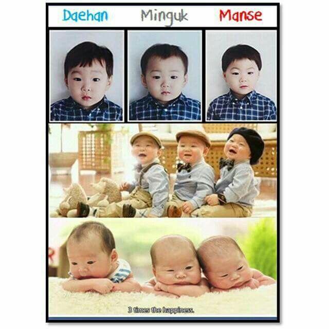 Triplets Daehan Minguk Manse