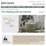 Wedding Ideas Awards 2013 Finalists – Best Gift List Service