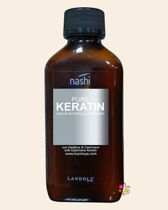 NASHI Pure Keratin Asi ve Kabarık Saçlar İçin Düzleştirici Krem 200 ml