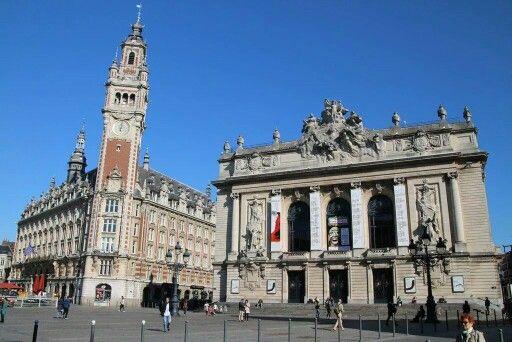 FRA Lille Place Du Theatre (Vieille Bourse   Chambre De Commerce   Opera)    LIEBLINGS ORTE   Pinterest   Community And Business