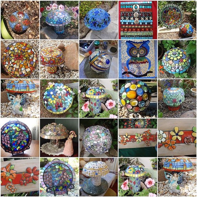 patterns for gazing balls 30 best images about mosaques sphres on pinterest gardens