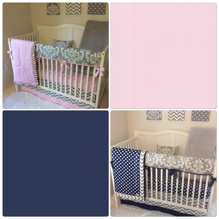 A personal favorite from my Etsy shop https://www.etsy.com/listing/165110352/baby-girl-baby-boy-twin-crib-bedding-set