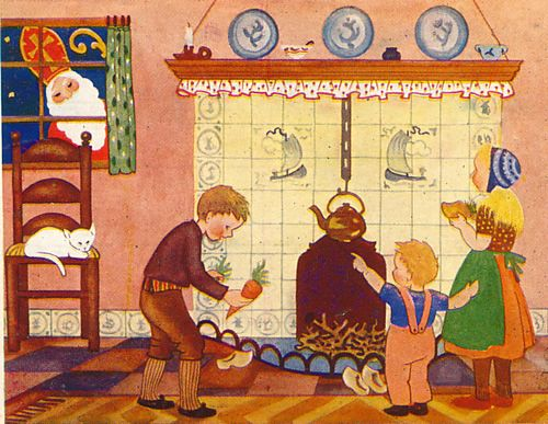 Sinterklaas Day ~ time to set out your wooden shoes