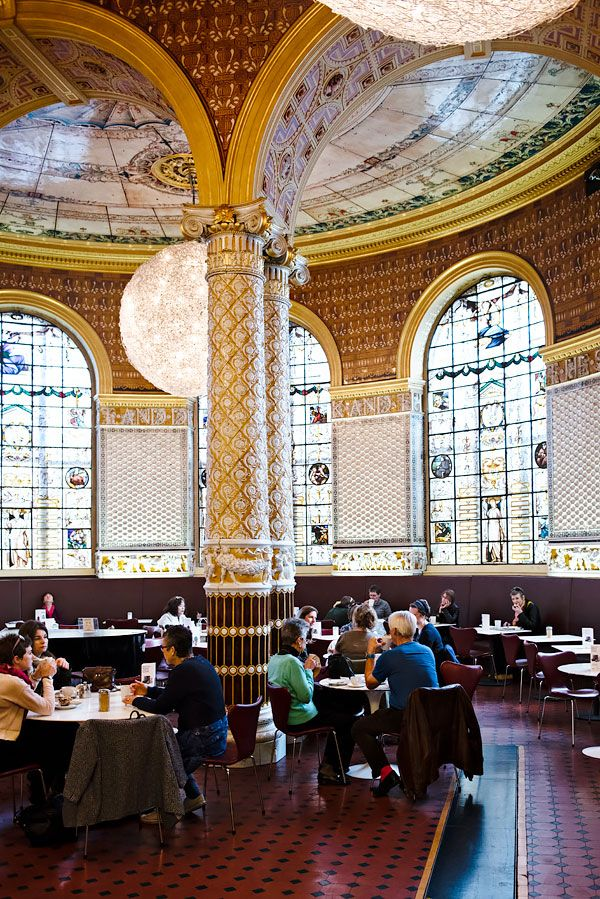 10 Hidden Sights in London, England | The Everygirl.  Victoria and Albert museum for tea.  Cute and casual!