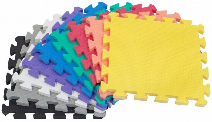 "<p>• 36 high quality Wonder Mats in 1 Color.<br />• Colors Available: Red, Orange, Yellow, Green, Blue, Purple, White, Gray, or Black.<br />• Each mat is 12"" x 12"" (inches) covering 36 square feet.<br />• It's ~9/16"" of an inch thick, which exceeds the minimum protection requirement for children.<br />• Passed CPSC standards and toxicity report of 53 substances of very high concern.<br />• Made from non-recyc..."