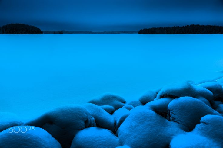 Lake - A local lake called Kallavesi.
