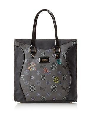 Desigual Women's Butterfly Bag, Black