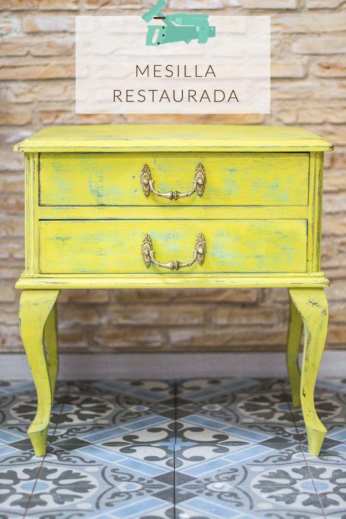 mesilla restaurada muebles