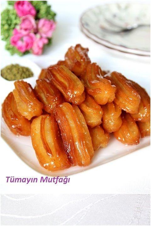Tulumba Tatlısı... o melhor doce do mundo!!!