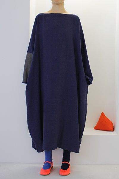 The daniela gregis luciana dress is not actually speaking to me, liking the color scheme and the mismatched socks with those shoes.
