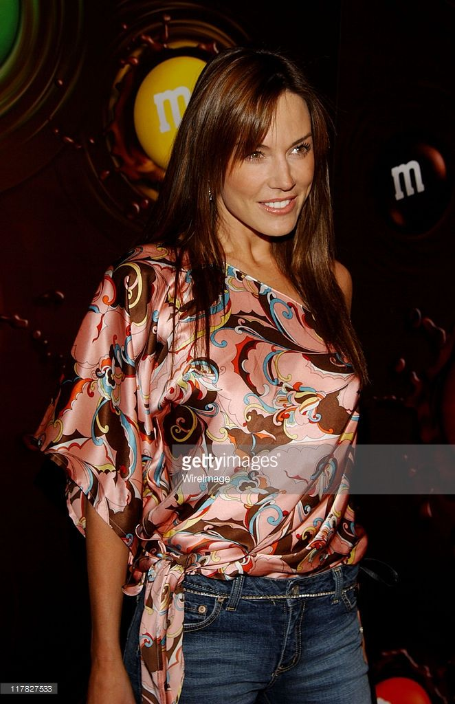 Krista Allen during Experience The Color Of M&M's - Red Carpet and Inside at The M&M's Brand City in Hollywood, California, United States.