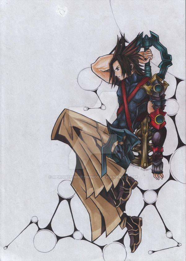 Vetorizei essa tatuagem ontem pro meu amigo Anderson, que a tatuou hoje. IUSAEHIUSAHSIUH Ambos são referentes a Kingdom Hearts. O Sora foi vetorizado a partir de umas outras tatuagens encontradas n...