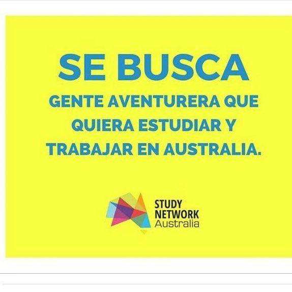 Study Network Australia está en búsqueda de gente que quiera estudiar o trabajar en dicho país  Más información en:  http://ift.tt/1UCCWnW  #beca #australia #mexico #student #estudiantes #studyabroad #viaje #proyecto #cambio #unam #ipn #uvm #uam #IBERO #Anahuac #buap #uady #udg #universidad #carrera by becas_y_proyectos