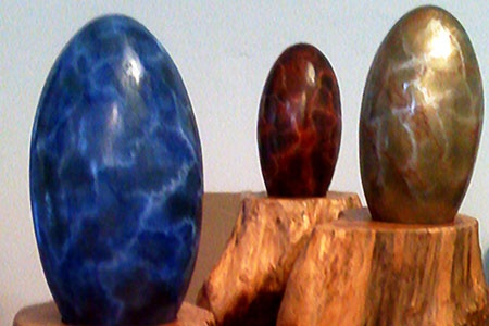 interactive dragon eggs that make sounds when they are touched!