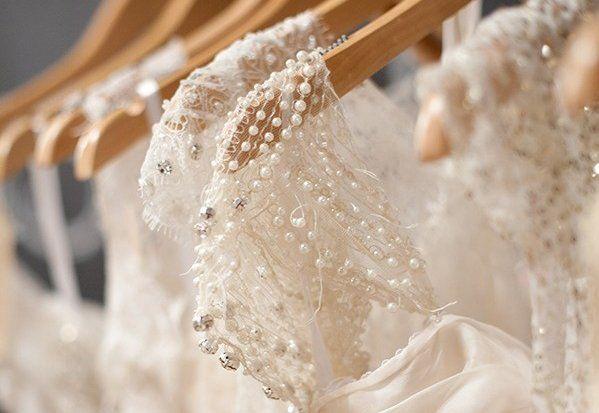 a escolha do vestido